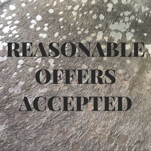 Other - REASONABLE OFFERS ACCEPT! BUNDLE AND SAVE!